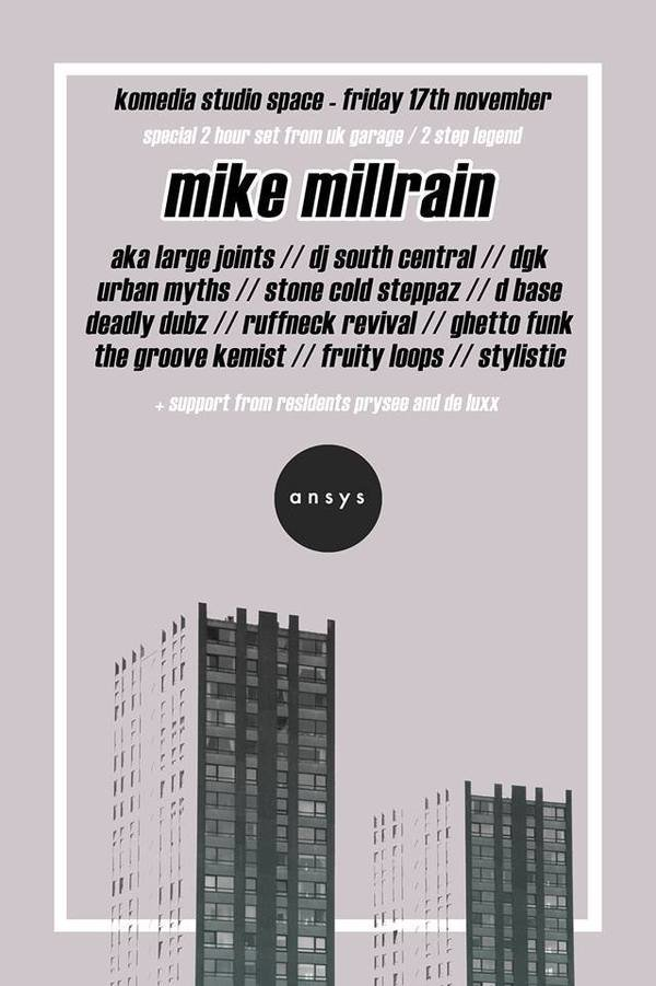 Display mikemillrainposter