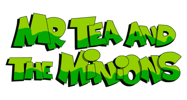 Display mr tea and the minions logo