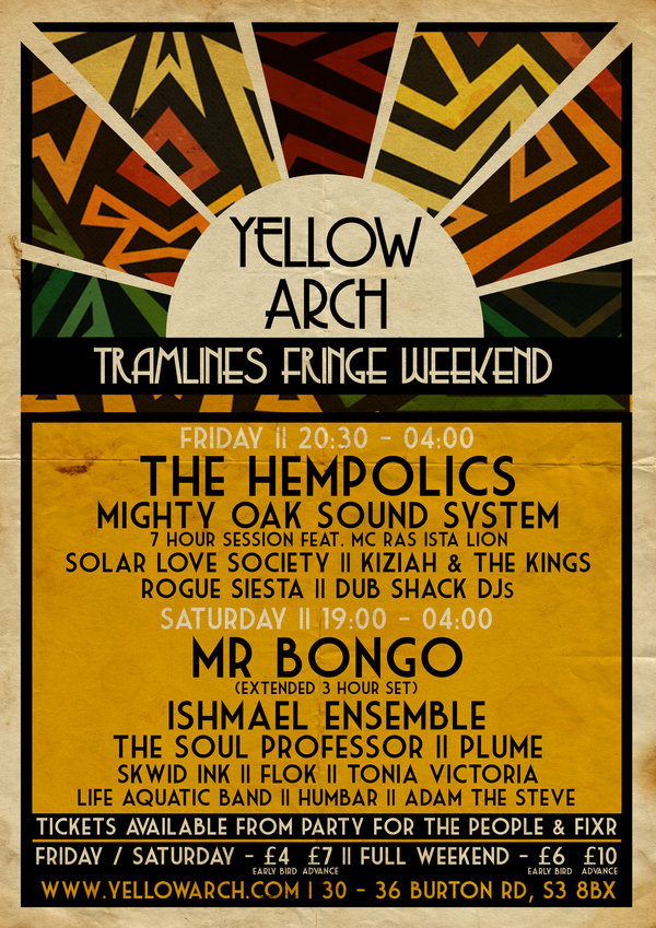 Display tramlines poster final