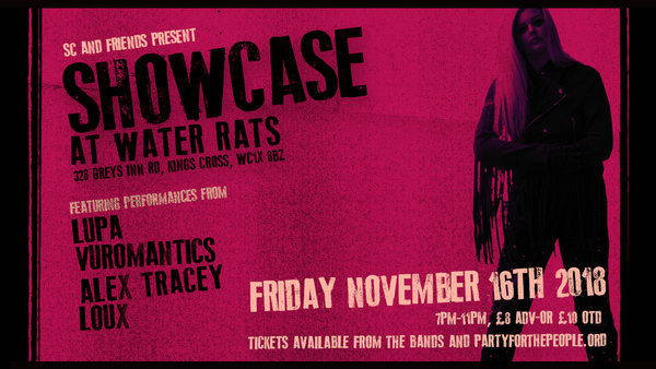 Display water rats showcase fb event cov