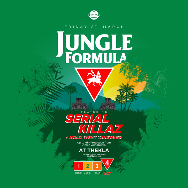 Display jungle formula    square bristol